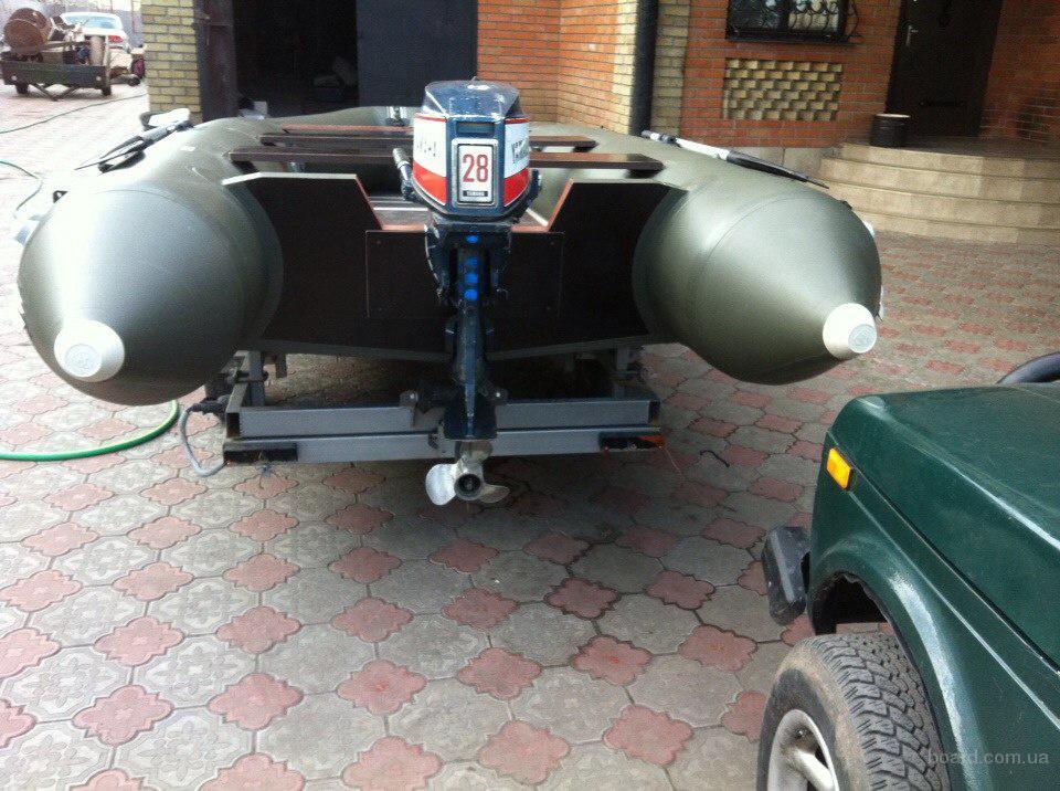 бензомотор для резиновой лодки