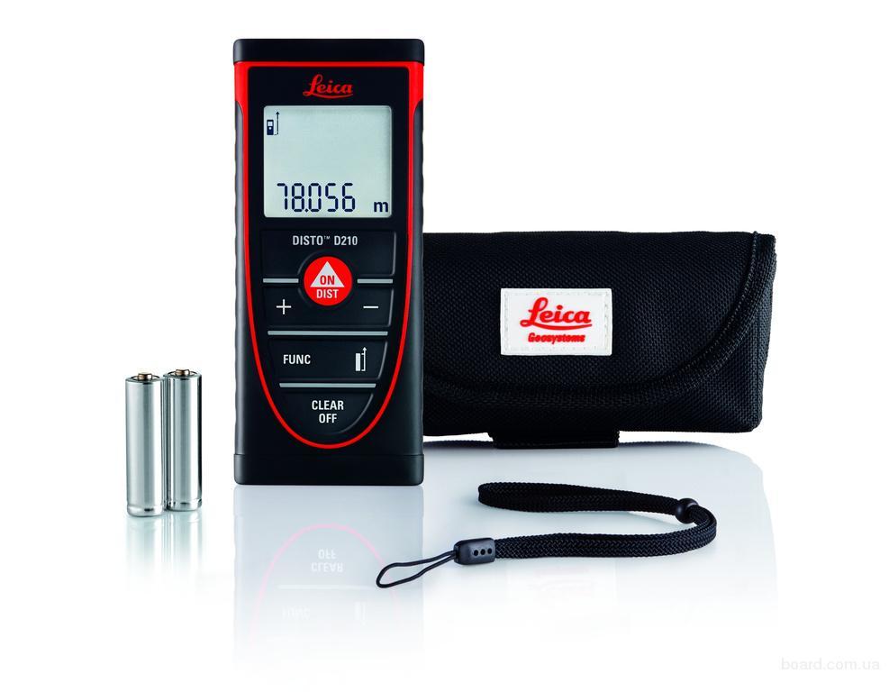Disto D210 - лазерная рулетка (дальномер) для измерения расстояний