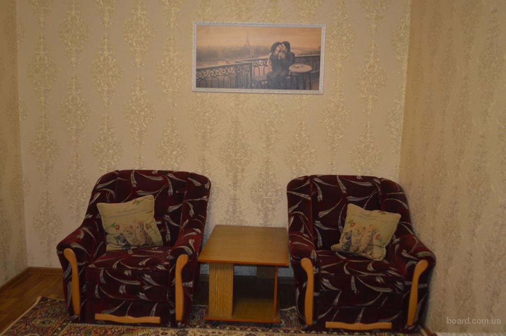 1-комнатная квартира посуточно/почасово в Новой Каховке хозяйка