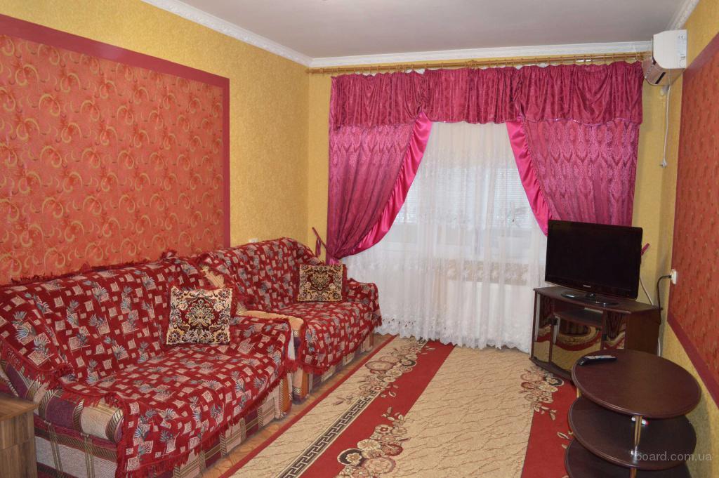 1-комнатная квартира-люкс  посуточно и почасово Новая Каховка