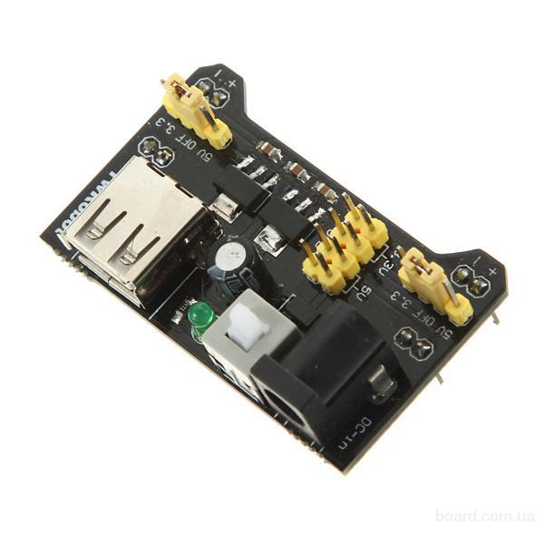 Модуль питания 3,3-5В для макетных плат Arduino