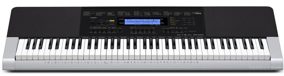 Оригинальный синтезатор Casio wk-240 цена 7500