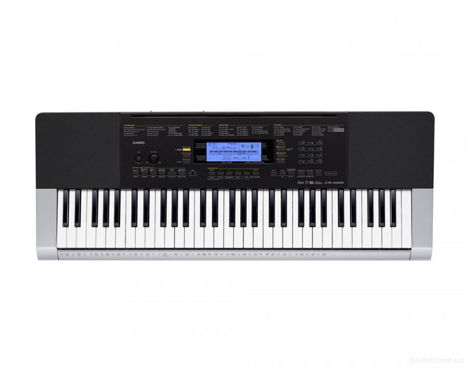Синтезатор Casio ctk-4400 с функцией «Виртуальный зал» (Virtual Hall)