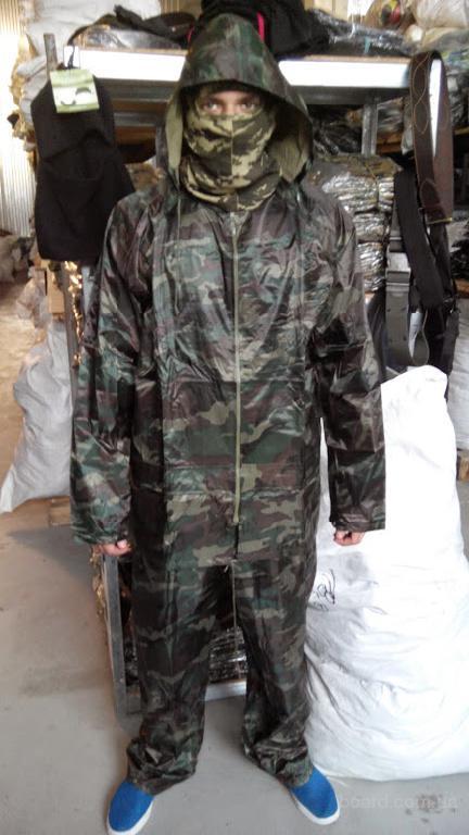 Дождевик костюм камуфлированый оптом