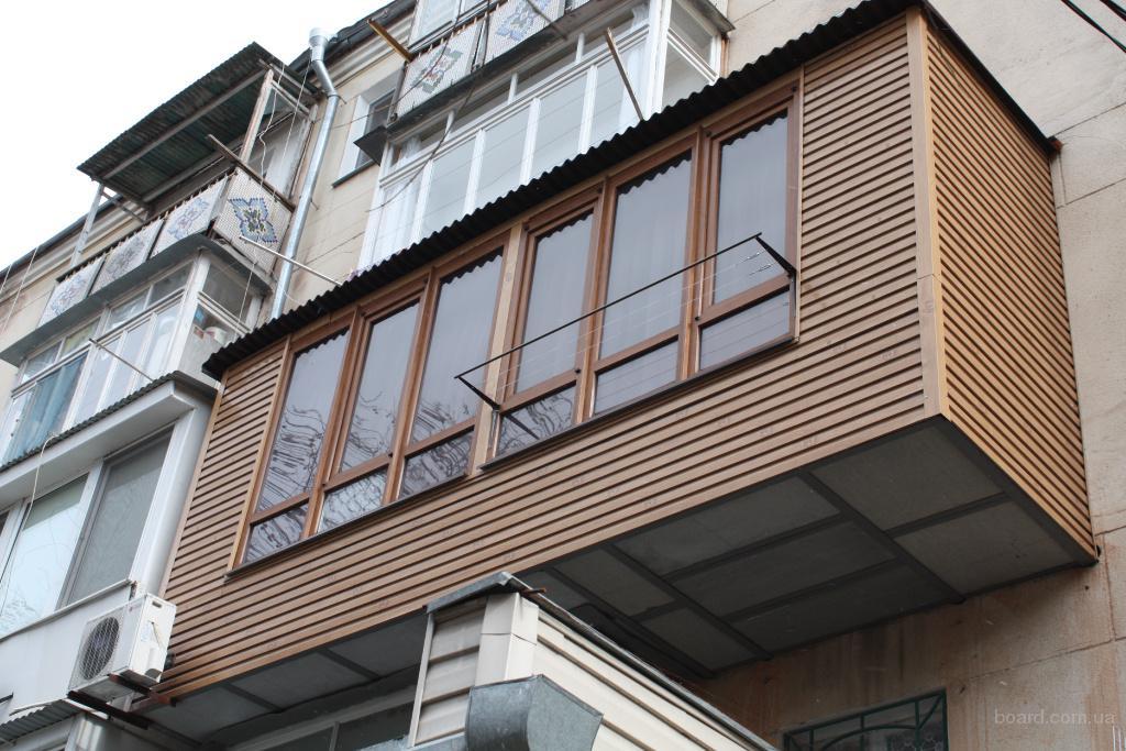 Ремонт и расширение балконов в киеве предлагаю в киев, украи.