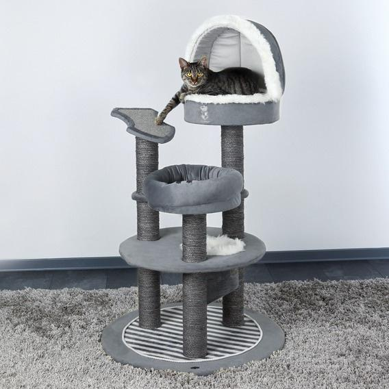 Когтеточка Trixie Cat Prince  - Многоуровневая когтеточка с пещерой, лежаком и домиком