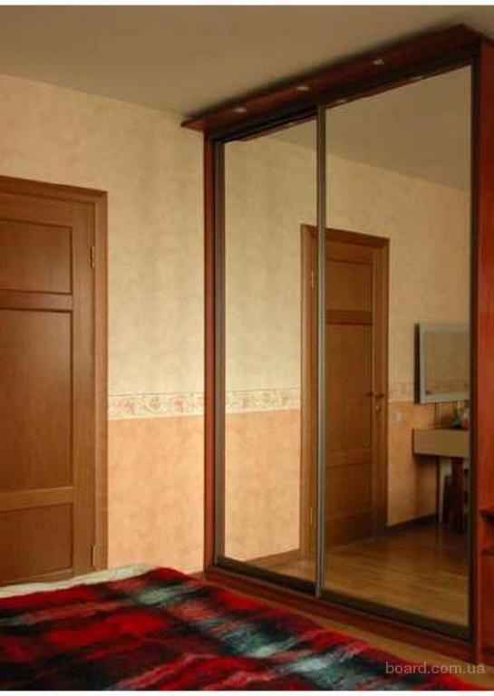 Двери купе зеркальные