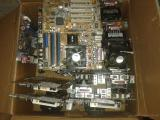комплект материнкая плата + процессор + куллер Материнская плата Asus P4PE-X TE Процессор Intel Pentium 4