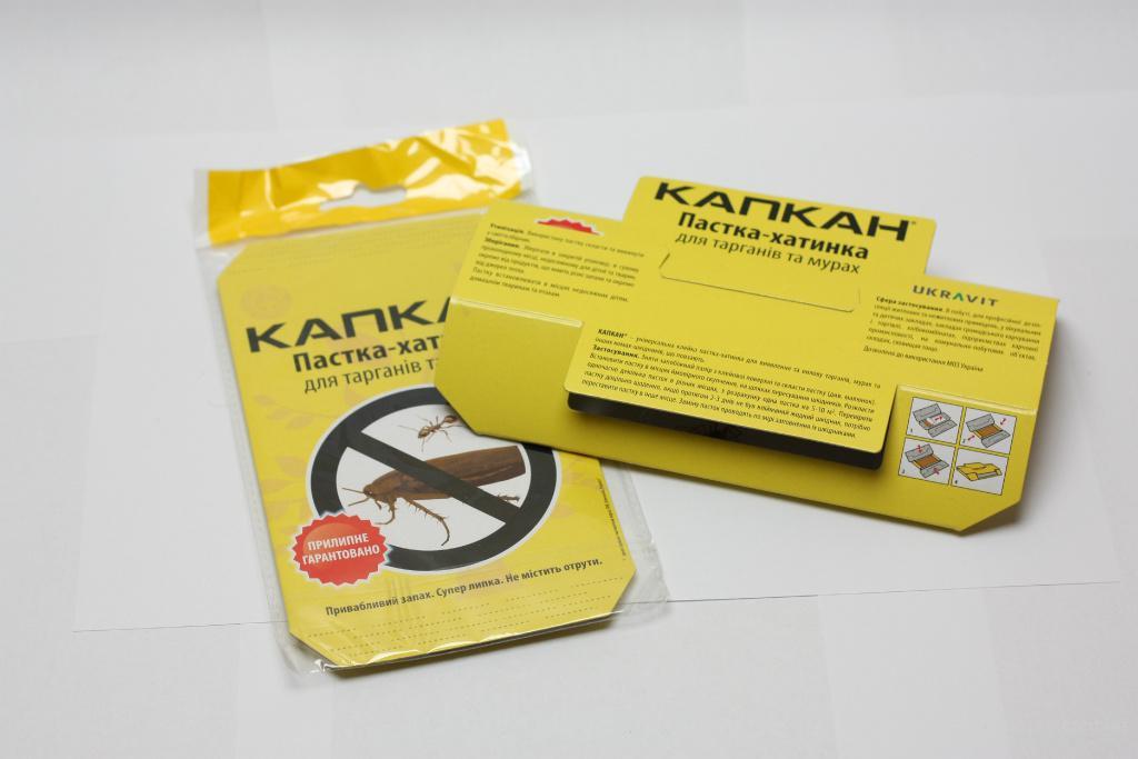 Домик-ловушка «Капкан» для отлова и уничтожения тараканов и муравьев