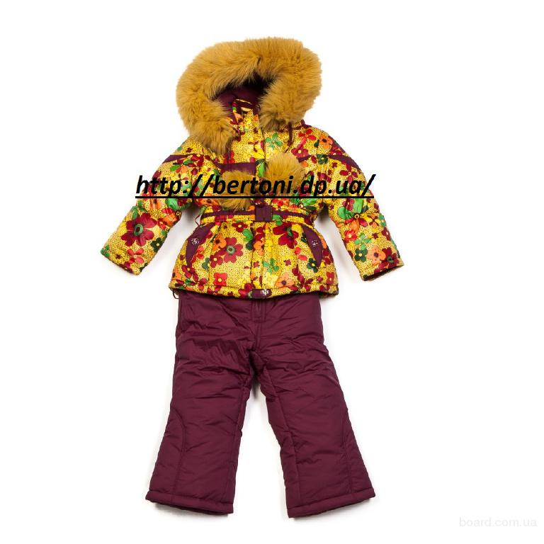 Детский комбинезон для девочек kiko 2933 тинсулейт
