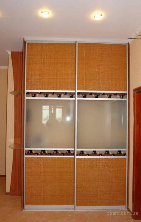 Стильные двери купе для шкафов и перегородок