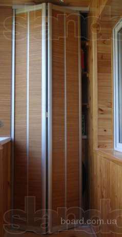 Складывающиеся двери (гармошка) для шкафов-купе
