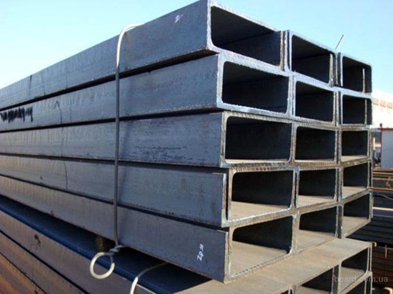 Швеллер стальной горячекатаный № 6,5 до 30 ст.3пс/сп гост купить