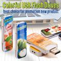 Оригинальные USB флеш-накопители с полноцветной печатью