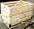 контейнер овощной деревянный цена купить. От производителя! Доставка по Украине и СНГ! Супер качество!