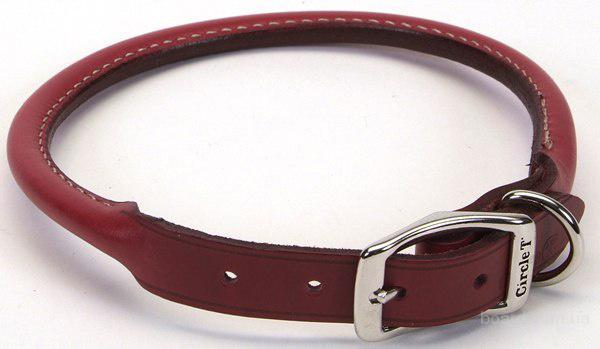 Ошейник для собак Coastal Circle-T круглый кожаный ошейник для собак 1,6смХ50см