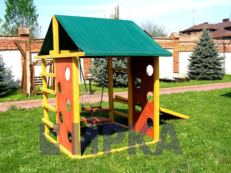 Детские площадки с дерева