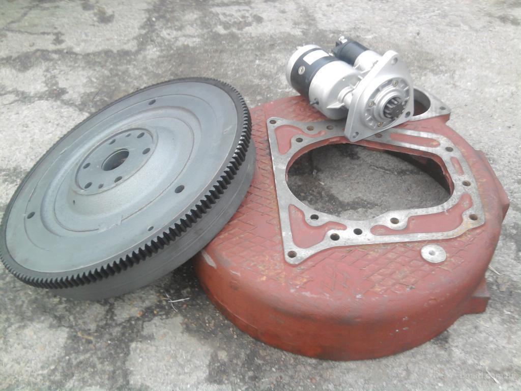 Комплект переоборудования двигателя ЯМЗ-236М2 на шасси.