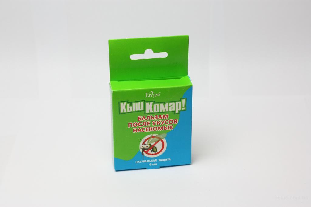 """Бальзам после укусов насекомых """"Кыш Комар!"""",6 мл."""