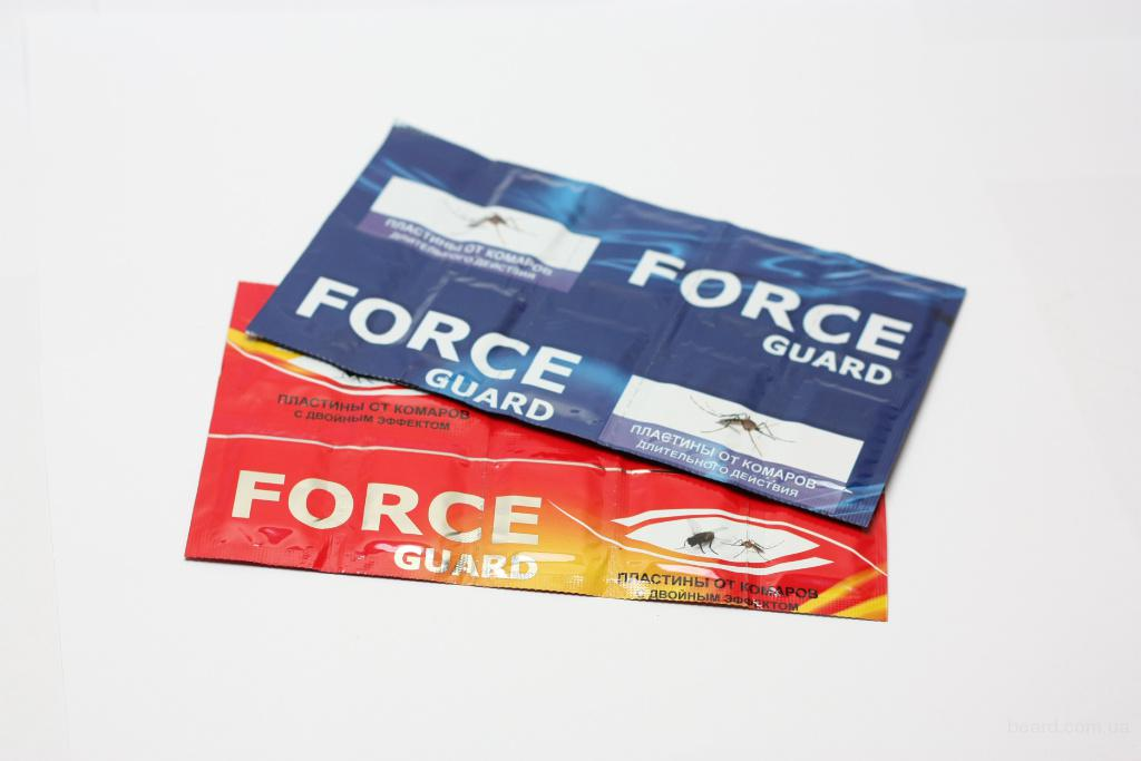 Force guard пластины детские с екстрактом ромашки