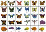 Объемные элементы декора, декоративные элементы из цветного стекла. Фьюзинг.
