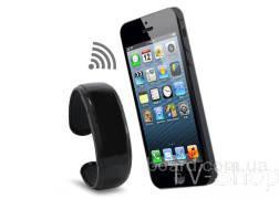 Bluetooth браслет з вібровикликом, годинником, mp3 плеєром, противтрата