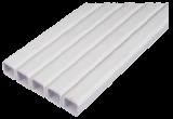 Труба квадратная пластиковая 22 х 22 мм для ниппельных систем поения