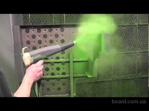 Полимерная порошковая покраска металлов
