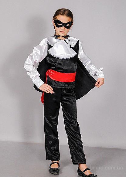 Детский костюм Зорро, прокат, Киев, Троещина