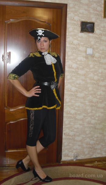Детские костюмы Пират, разбойник, прокат Киев. Троещина