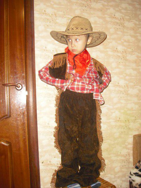 Детский костюм Ковбой, ковбойша прокат Киев, Троещина