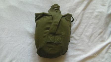 фляга армейская солдатская с чехлом