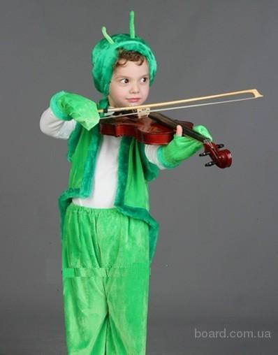 Детский костюм Кузнечик, Пчелка,Паук,Жук, прокат, Киев,Троещина