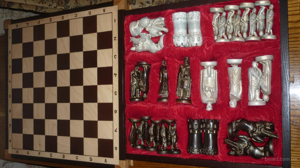 шахматы ручной работы в единичном экземпляре