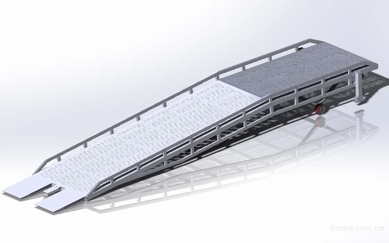Рампа мобильная грузоподъемностью 5 тонн