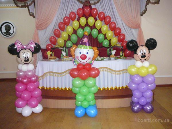 Фигурки из воздушных шаров с доставкой по Киеву!