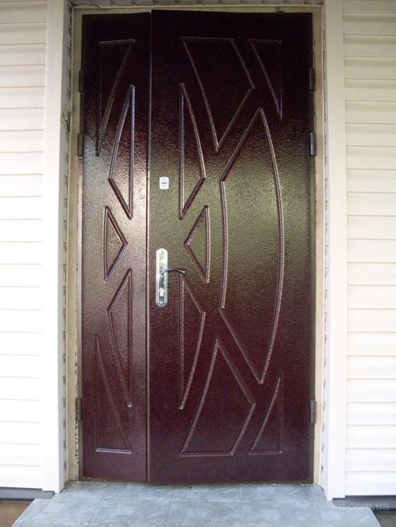 установка железной двери в частном доме г куровское
