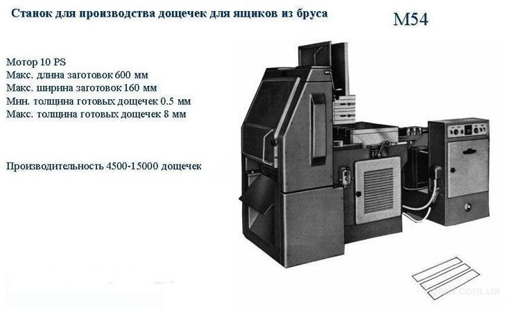 Corali - станки для производства деревянного ящика