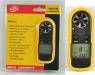 Цифровой крыльчатый анемометр GM816 с одновременным измерением температуры воздуха.