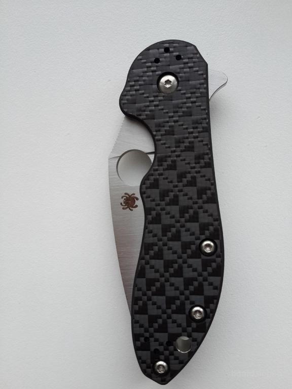 Нож Spyderco Domino Оригинал Новый CTS-XHP Суперсталь