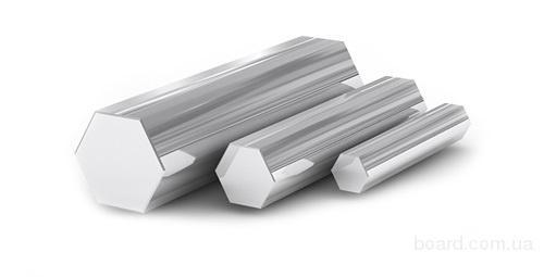 Шестигранник нержавеющая сталь 12Х18Н9Т, 12Х18Н10Т AISI гост