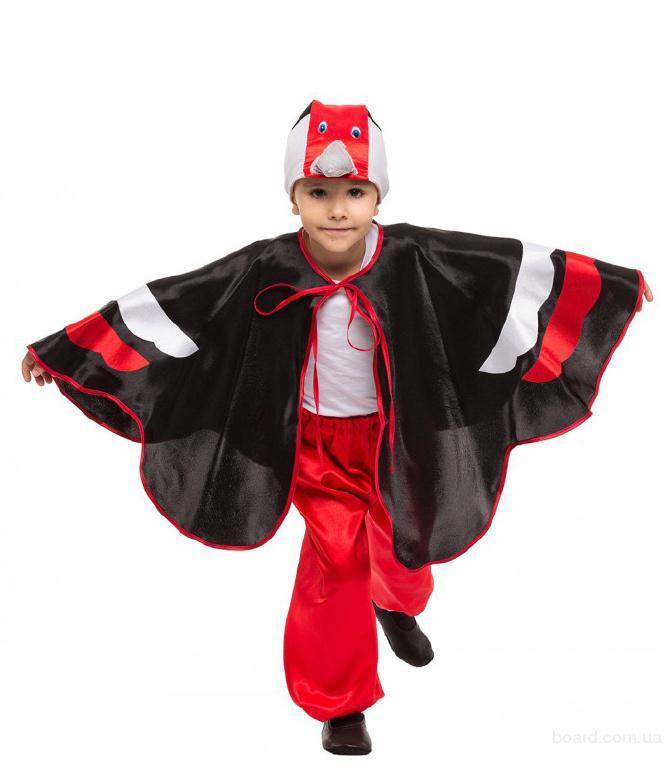 Прокат детских костюмов - аист, журавель, цапля, пчелка, тучка, ручеек, капелька, мушкитер дятел,ворон