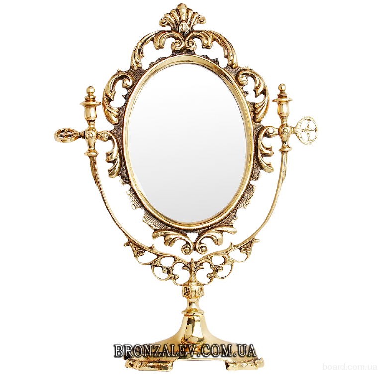Зеркало Барокко в бронзовой раме