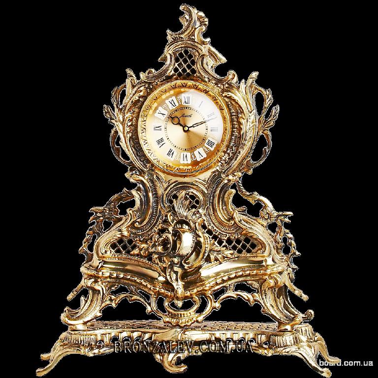 Часы каминные Ажурные (бронза)