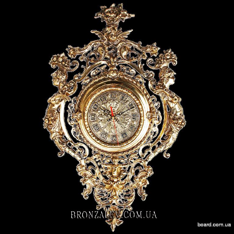 Настенные часы Кариатиды (бронза)