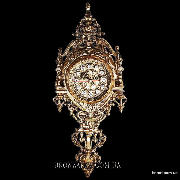 Часы настенные Готика (бронза)