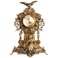 """Часы каминные """"Хранители времени"""" (бронза)"""