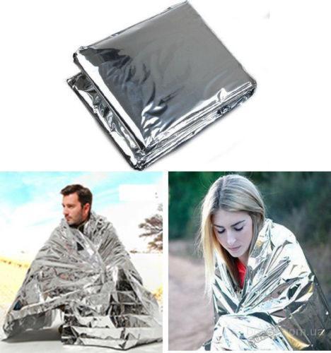 Аварийное спасательное тепловое одеяло