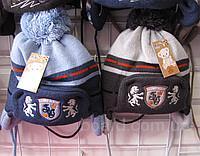 Детские флисовые шапки для мальчиков оптом