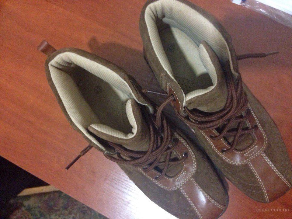 Осенние ботинки в идеальном состоянии